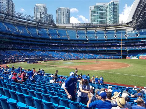 section 113 rogers centre rogers centre section 113a toronto blue jays