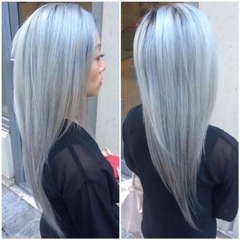 kenra silver metallic hair color platinum metallic silver kenra tang metallic