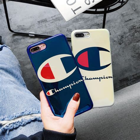 iphone      case blue light champion tide brand cases soft tpu cover mobile phone
