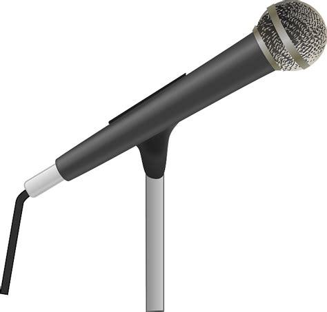 Microphone Mini Earphone 2in1 Karaoke Headset Sing free vector graphic microphone microphone stand free image on pixabay 162167