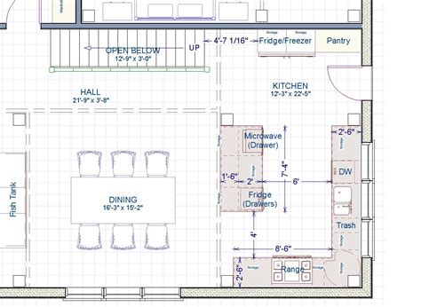 kitchen layout 13 x 8 please help with kitchen size and layout