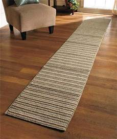 Kitchen Decorative Canisters extra long nonslip striped floor runner rug sand blue or