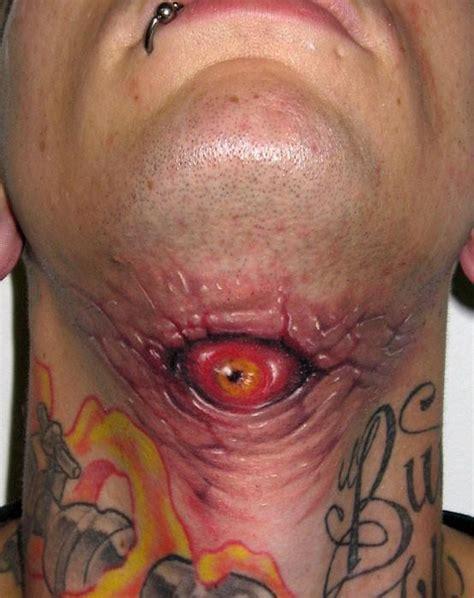 creepy spooky scary halloween tattoos