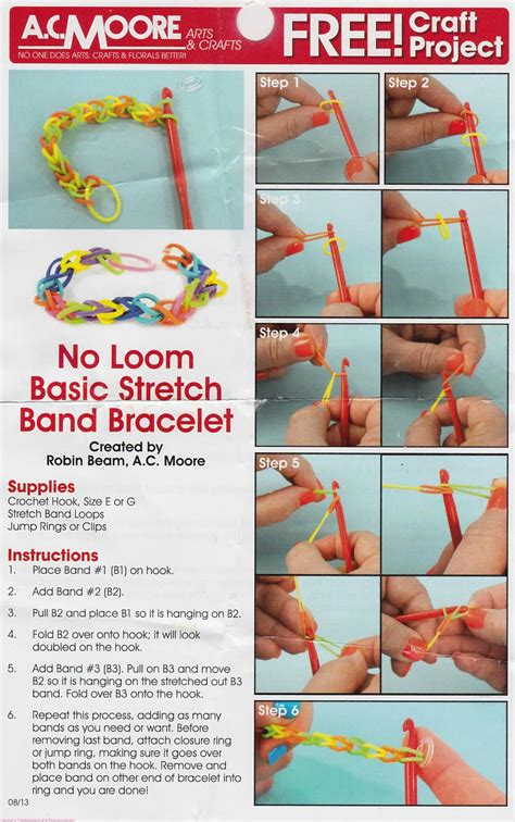 printable directions for rubber band bracelets rubber band bracelets the latest kids craze confessions