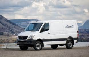Mercedes Sprinter 4x4 Mercedes Sprintercargovans Pictures And Images 6