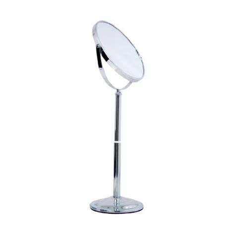 telescoping bathroom mirror acrylic vanity caddy