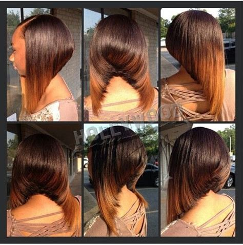which hair is better for sew in bob gorgeous bob ombre sew in hair pinterest bobs