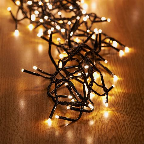 B M 480 Led Cluster Christmas Lights Warm White Cluster Lights