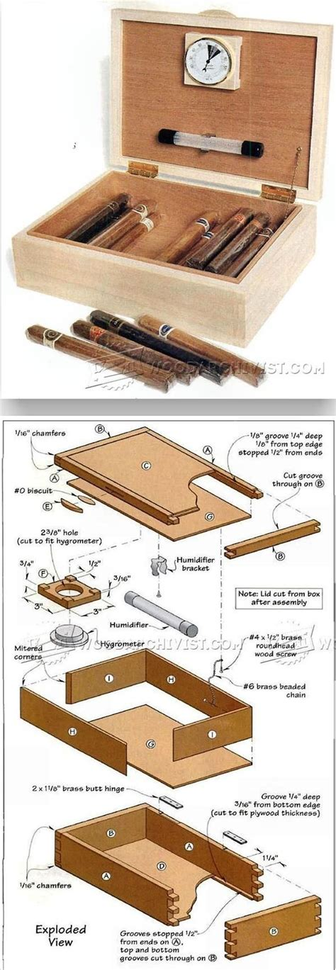 humidor woodworking plans 17 best ideas about cigar humidor on cigars