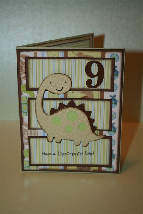 Handmade Cards For Boys - 29 best images about dinosaurs neil on card