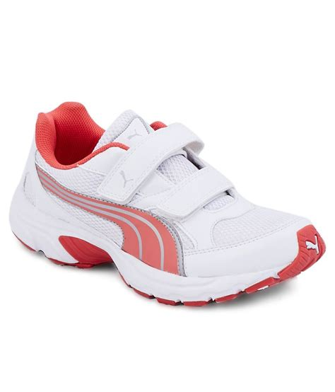 axis velcro white sport shoes price in india buy