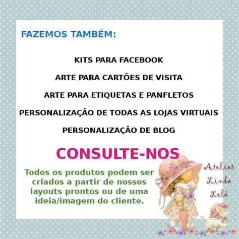 kit layout loja divitae 04 banner facebook loja de kit loja elo7 kit facebook lulli atelier linda lel 234 elo7
