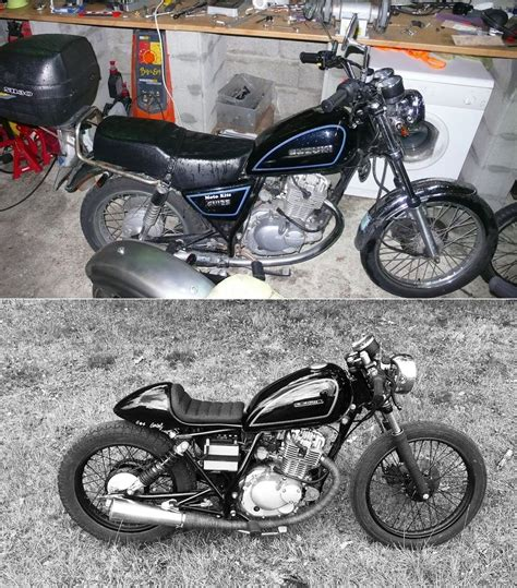 Alte Bmw Motorrad Umbauten by Suzuki Gn125 Terrorcycles Motos Customis 233 Es Pinterest