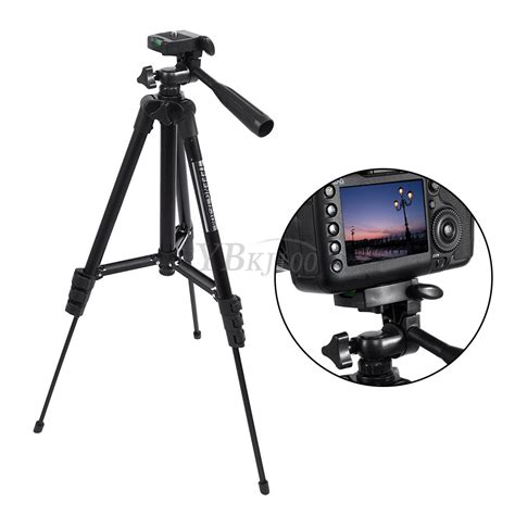 Tripod Canon 360 176 black digital camcorder portable tripod for canon sony ebay