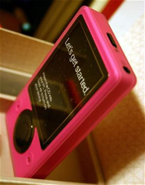 A More Pleasing Pink Zune by Zune Oddnesses Zune Pretty In Pink Zune On A Mac
