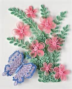 Quilling butterfly and flower pattern jpg 419 215 520 pixels trendvee