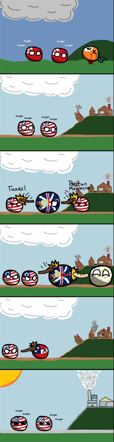 New Mexico State House a brief history of the united states polandball