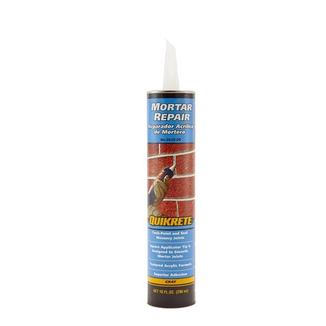 quikrete 10 oz mortar repair 862009 the home depot