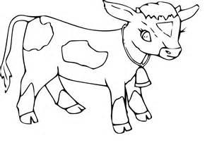coloriage veau et dessin 224 imprimer