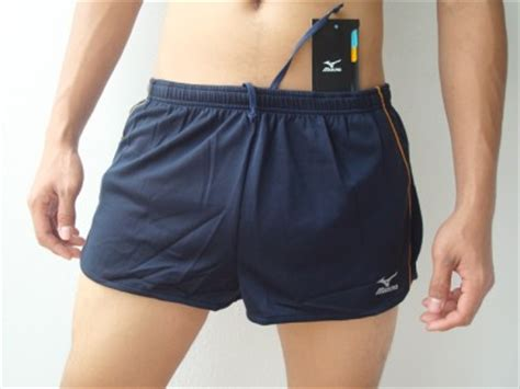 skimpy running shorts for men running short mens skimpy mizuno men s performance split
