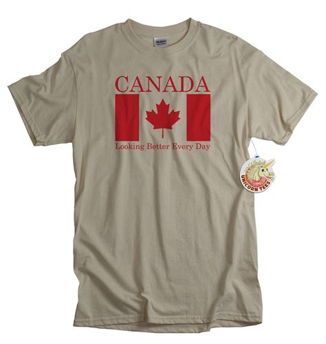 Tshirt Canada Bdc canadian flag tshirt canadians canada shirt and white