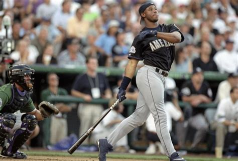 ken griffey jr swing video should you finish your swing with one hand or two