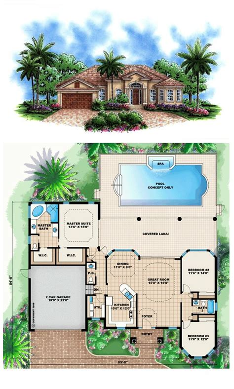 Cool Houseplans 1000 Ideas About Small Mediterranean Homes On Pinterest