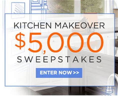 Kitchen Sweepstakes 2016 - meredith 5 000 kitchen makeover sweepstakes sun sweeps