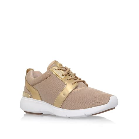 michael kors shoes michael kors amanda lace up sneakers in lyst
