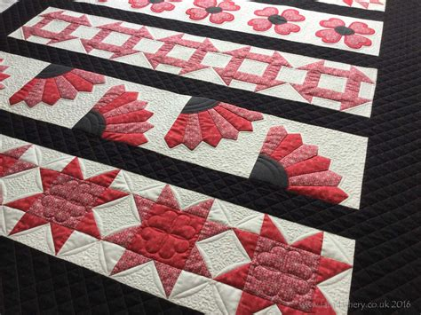 fabadashery longarm quilting row by row sler quilt
