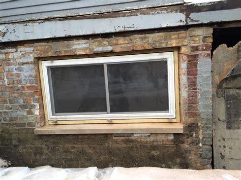 back basement window two flat remade