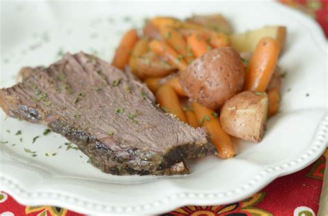 Slow Cooker Maple Roast Mommy Hates Cooking