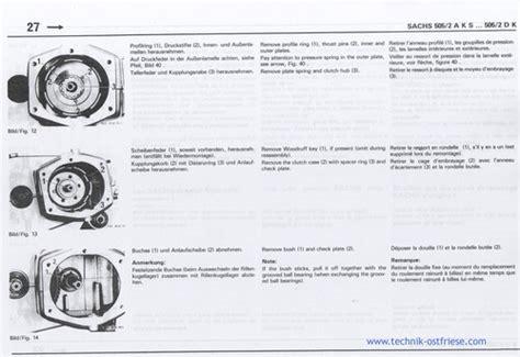 Sachs Motor Anleitung by Sachs 505 2 Motor Reparaturanleitung