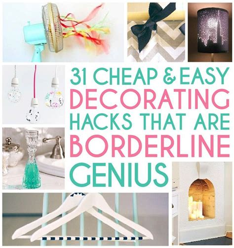 home design hacks home decor hacks on