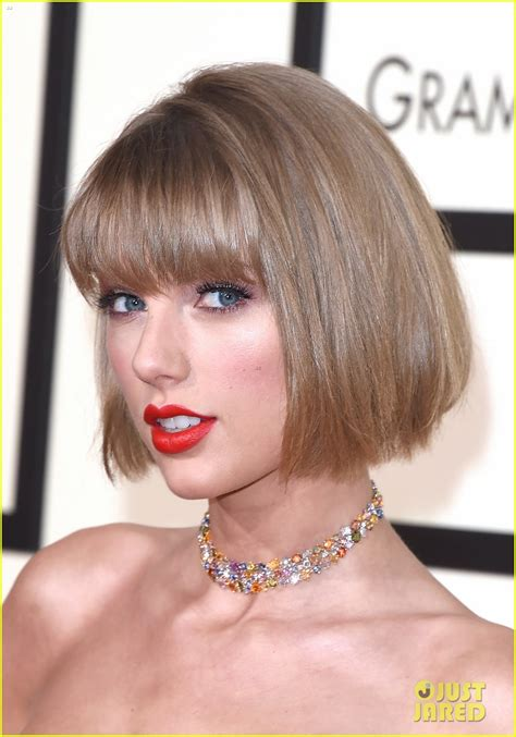 full sized photo of taylor swift short hair grammys 2016