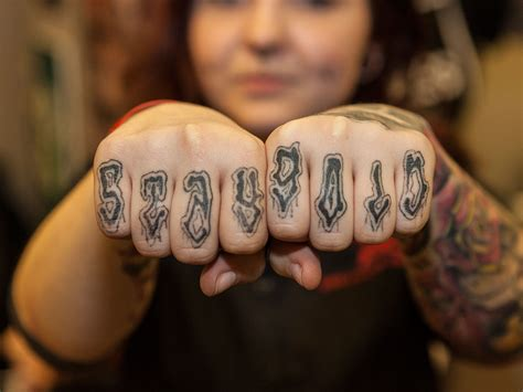 tattoo knuckle generator the gallery knuckles