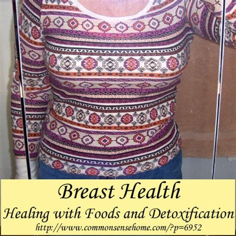 Breast Detox Through The by Breast Health Healing With Foods And Detoxification