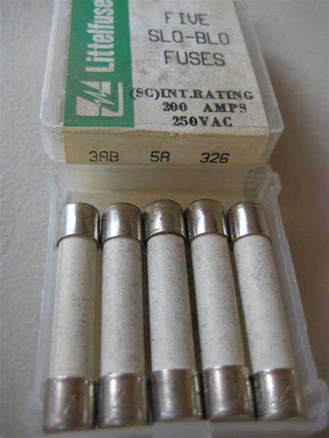 10 ceramic fuse 326 5x littelfuse fuse 326 3 4 8 or 20 nos 3ab slo blo
