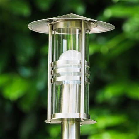 outdoor post lights contemporary outdoor l post modern garden patio light ip44 terrace