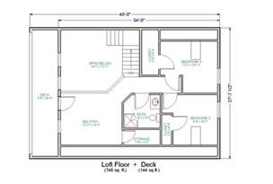 Loft House Plans by Home Plans Log Homes