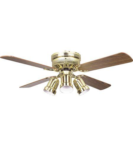 42 inch hugger warplane ceiling fan with light kit hugger 42 inch polished brass with light dark oak blades