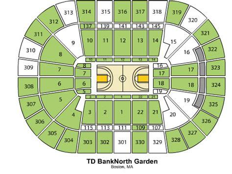 Td Bank Garden Seating Chart by Td Garden Tickets Ncaa