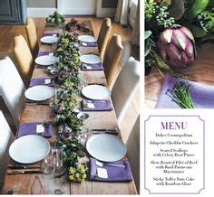 ina garten s make ahead thanksgiving advice my table setting for this year s thanksgiving i lined the