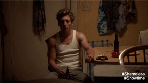 lips tattoo shameless jeremy allen white ugh gif by showtime find share on giphy