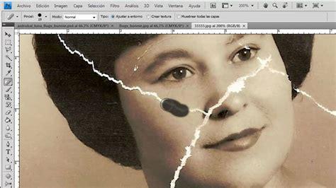 fotos a blanco y negro photoshop tutorial de como restaurar imagenes en photoshop parte 1