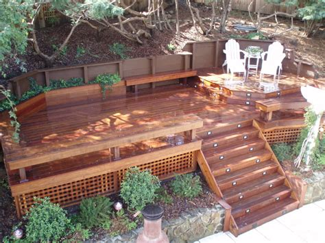 deck planter bench deck planters and benches deck planters made from useless rubbishes cement patio