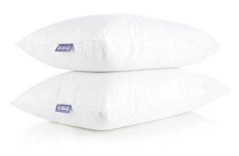 bed pillows made in usa deluxe home 100 made in usa pillow queen size bed