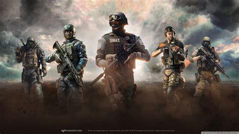 crossfire swat ultra hd desktop background wallpaper