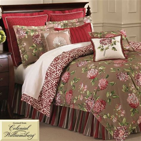 Bed Bath And Beyond Williamsburg by Roses Floral Comforter Bedding