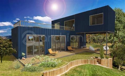 Prix Maison En Container by Permis De Construire Pour Une Maison Container Archionline